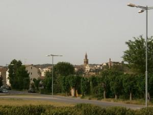 Barbastro. Camino de Cregenzán