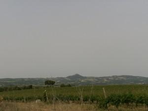 Barbastro. Monasterio de El Pueyo, camino Cregenzán