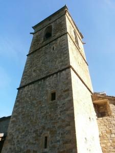 Llert. Torre de la iglesia de San Esteban