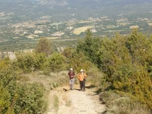 Samitier. Camino de Santa Waldesca