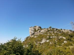 Samitier. Torre albarrana en el castillo