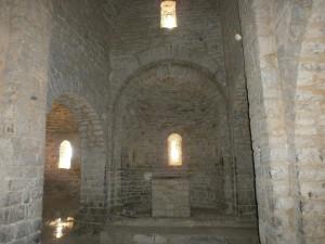 Samitier. Interior iglesia Santos Emeterio y Celedonio