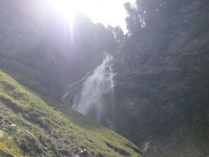Cerler. Cascada de Ardonés