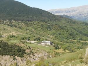 Cerler. Cuartel militar alta montaña