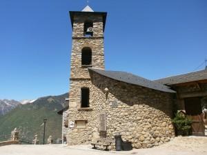 Cerler. Iglesia de San Lorenzo