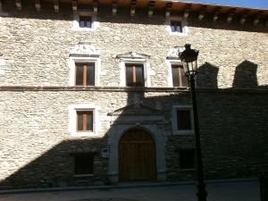 Benasque. Palacio Condes de Ribagorza