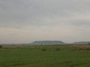 Cerro de Terreu al fondo