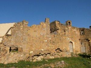 San Saturnino. Ruinas de la iglesia