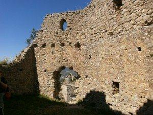 Samitier. Interior del castillo