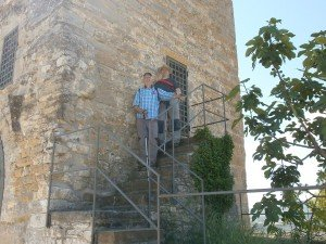 Samitier. Torre de San Vicente