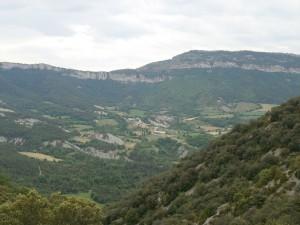 Vista de Espluga, desde La Canal