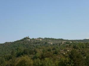 Camino de Betorz, una vista de Almazorre