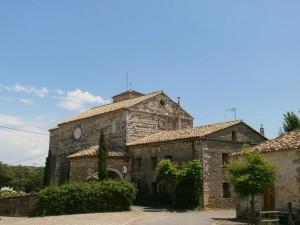Lecina. Iglesia de San Juan Bautista