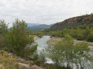 Río Ara. Camino de Boltaña