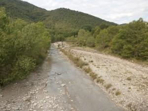 Barranco de Ena. Camino de Boltaña