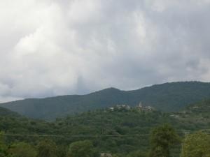 Una vista del pueblo de Sieste