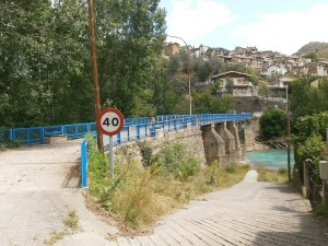 Boltaña. Antiguo puente