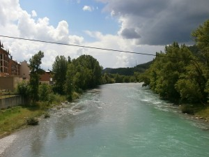 Río Ara, a su paso por Bortaña