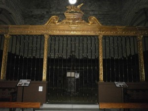 Boltaña. Frontal del coro de San Victorian