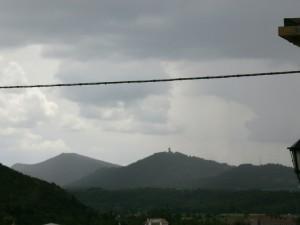 Una vista de Guaso, desde Boltaña