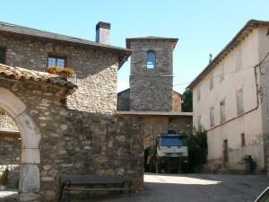 Castejón de Sos. Antigua iglesia de San Sebastián