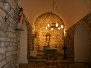 Sos. Interior iglesia de San Andrés