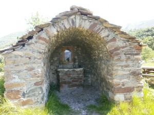 Sos. Capilleta o ermita de Santa Lucía