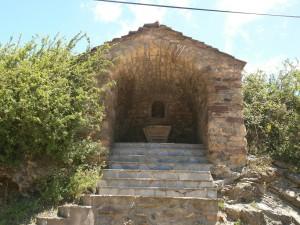 Arasán. Capilleta o ermita de Santa Bárbara