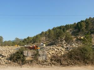Cantera de Piedra. Camino San Vicente