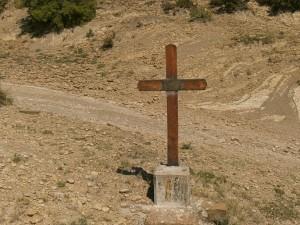 San Vicente Labuerda. Ermita San Miguel. Vía Crucis