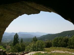 Al fondo Mediano desde el esconjuradero de S. Vicente