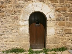 San Vicente. Puerta de entrada a la abadía