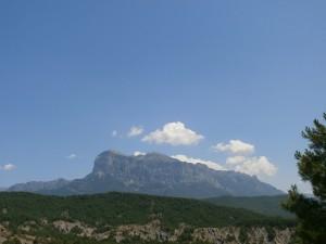 Peña Montañesa. Camino de Labuerda