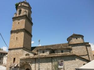 Labuerda. Iglesia de San Sebastián