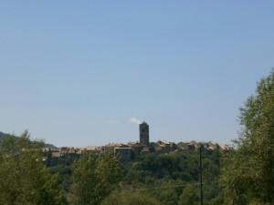 L'Ainsa, final de la ruta de hoy