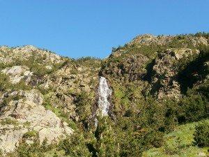 Cascada en el barranco de Gorgutes