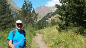 Camino del refugio de montaña. Valle Estós