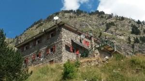 Refugio de montaña del Valle de Estós