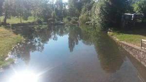 Laspaúles. Remanso río Isábena