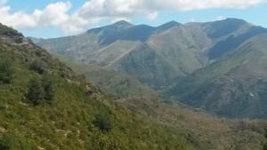 Montes de Castanesa. Fonchanina al fondo