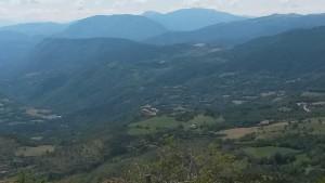 Valle de Castanesa. Montes de Bonansa al fondo