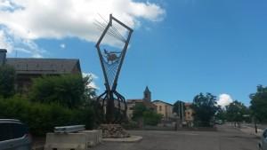 Laspaúles. Monumento a la brujería