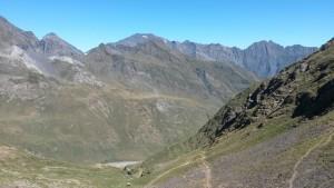 Valle francés desde el Puerto Viejo de Bielsa