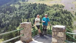 En el refugio de montaña de Estós