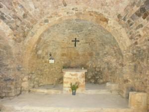 Bonansa. Interior ermita de San Roque