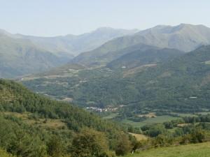 Valle del Baliera. Camino ermita San Salvador