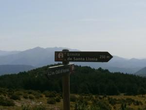 Camino de la ermita de Santa Lucía