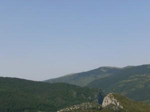 Sierra de Ballabriga, desde Santa Lucía