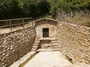 Bonansa. Fuente romana en el camino real