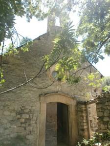 Casa Conques. Ermita de San Esteban